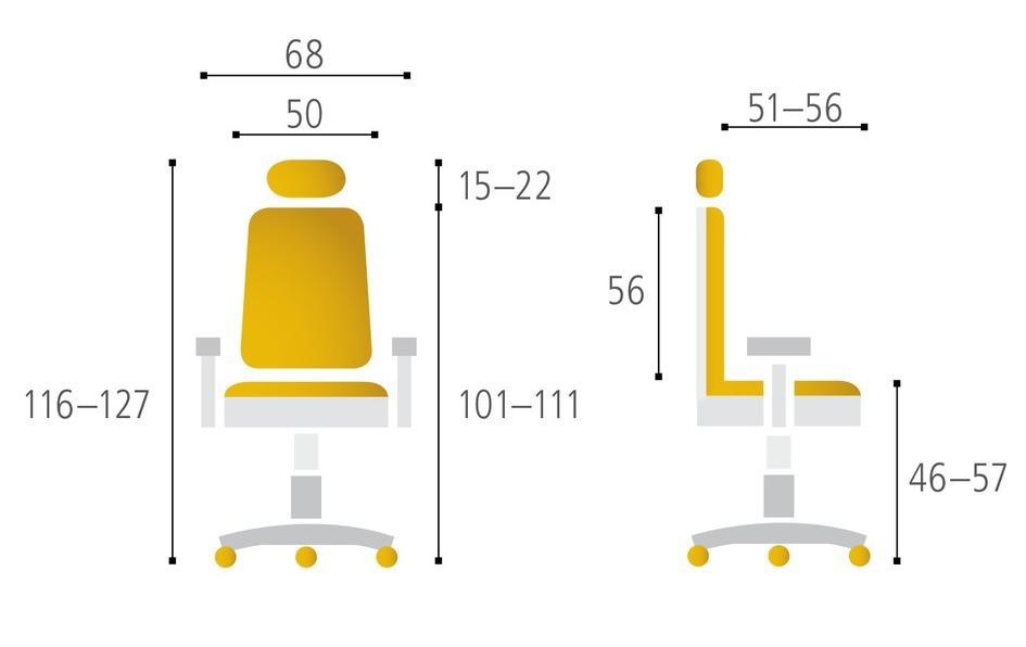 Kancelářská židle MERENS BP