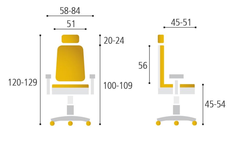 Kancelářská židle KARME